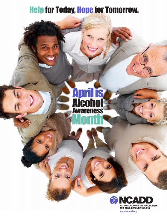 alcohol awareness month- 2014 poster