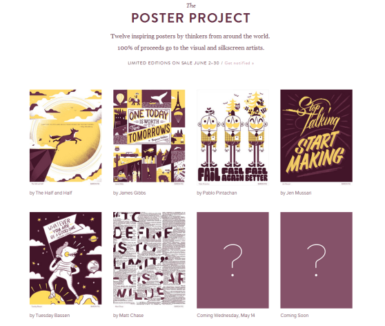 the poster project - baronfig